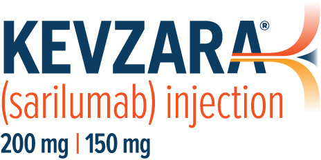 KEVZARA? (sarilumab) Injection logo